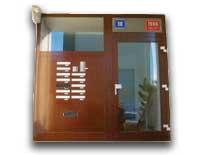 Dverové zostavy postových schránok, bytové domy a paneláky