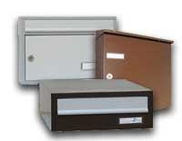 Samostatné poštové schránky