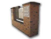 Poštové schránky k zamurovaniu do múrika