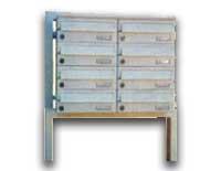 Voľne stojace zostavy poštové schránky