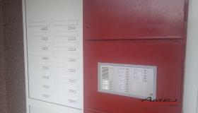 Poštové schránky do vchdových dverí