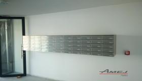 Poštové schránky na stenu, Poštové schránky Amej Piešťany