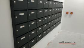 Poštové schránky Amej, Petržalka Rusovská cesta