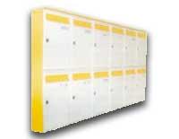Nástenné zostavy poštových schránok
